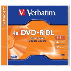 DVD-R DL Verbatim 8,5Gb Jewel (1ks)