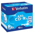 CD-R Verbatim 80 slim Crystal AZO (10ks)