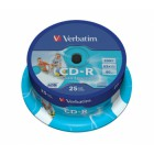 CD-R Verbatim 80 J DT+ Printable (25ks)