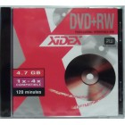 DVD+RW Xidex 4,7GB 4x (10ks)