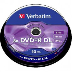 DVD+R Verbatim 8,5Gb spindl (10ks)