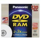 DVD RAM Panasonic LM-AE120LE 3x (1ks)