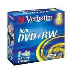 DVD+RW 8cm 1-4x 1,4GB Verbatim (1ks)
