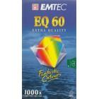 Videokazeta VHS Emtec 60 EQ