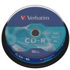 CD-R Verbatim 80 DT+ spidl (10ks)