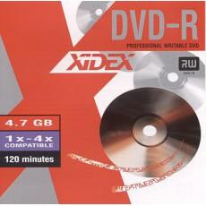 DVD-R Xidex 4,7GB  8x slim (10ks)