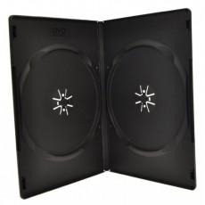 BOX na 2DVD slim černý