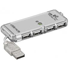 Rozbočovač HUB USB 2.0  4porty