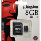 Paměťová karta microSD 8GB SDHC Kingston