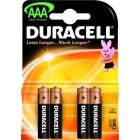 Baterie Duracell LR03 AAA (mikrotužkové)
