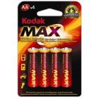 Baterie Kodak LR06 MAX (tužkové)
