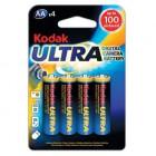Baterie Kodak LR03 Ultra AAA (mikrotužkové)