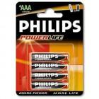 Baterie Philips LR03 AAA alkalická (mikrotužková)