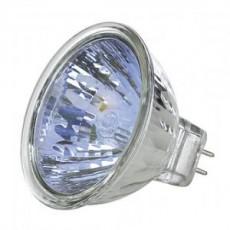Žárovka halogenová - dichroidní sklo 12V 20W (MU-GU 5,3)