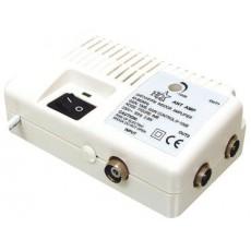 Rozbočovač  aktivní 2x IEC ANT AMP2